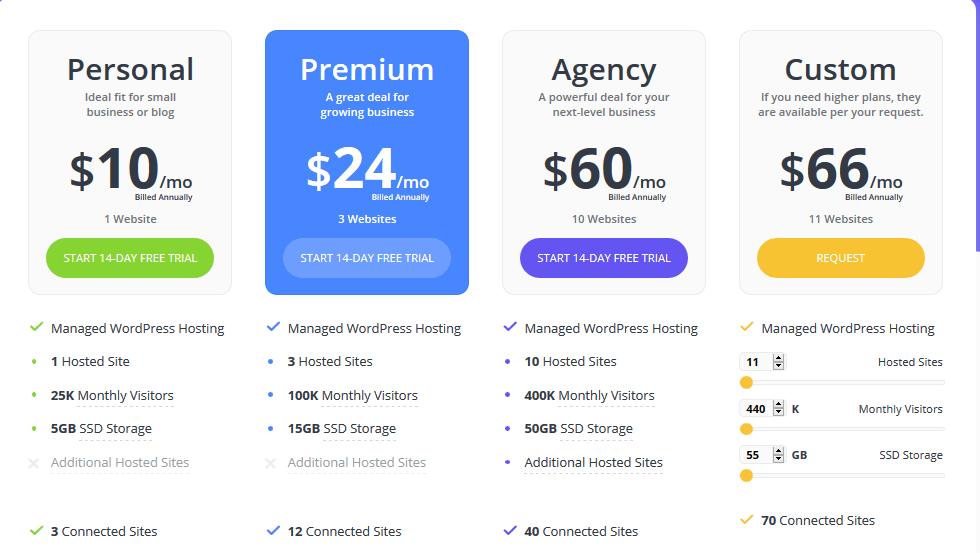 10Web Pricing