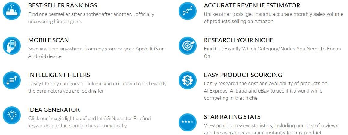 ASINspector Features
