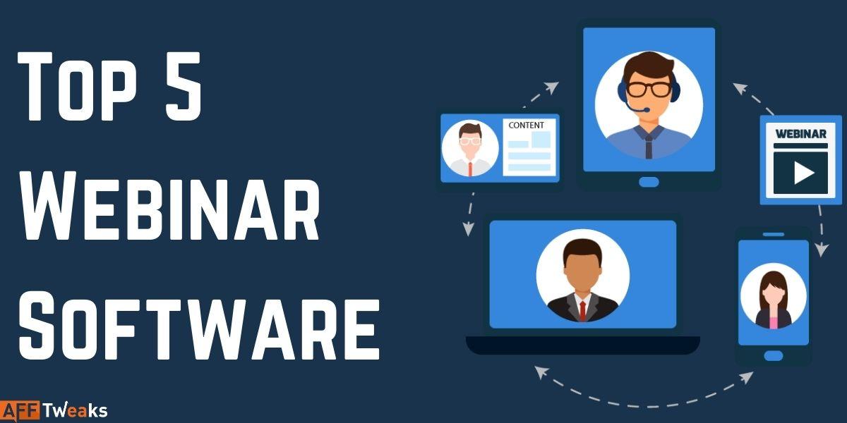 Top 5 Webinar Softwares
