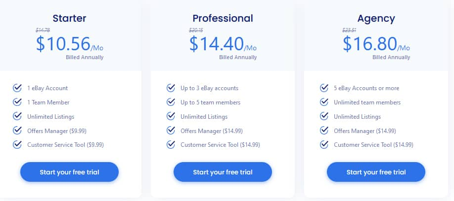 3Dsellers Pricing