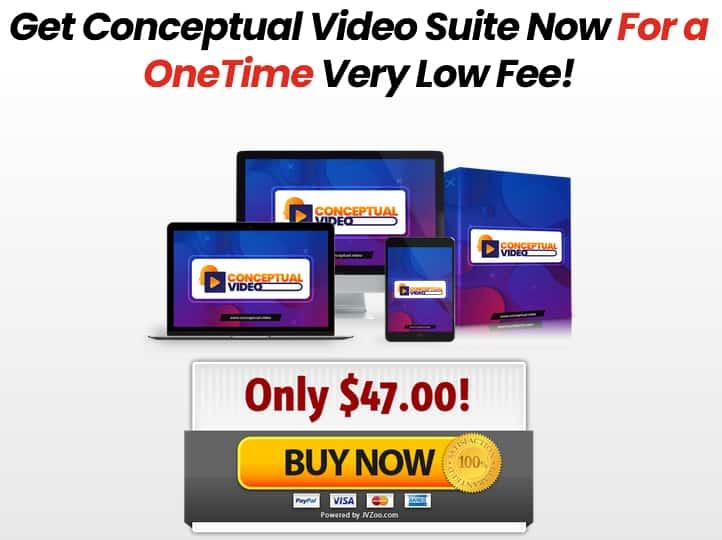 Conceptual Video Suite Pricing
