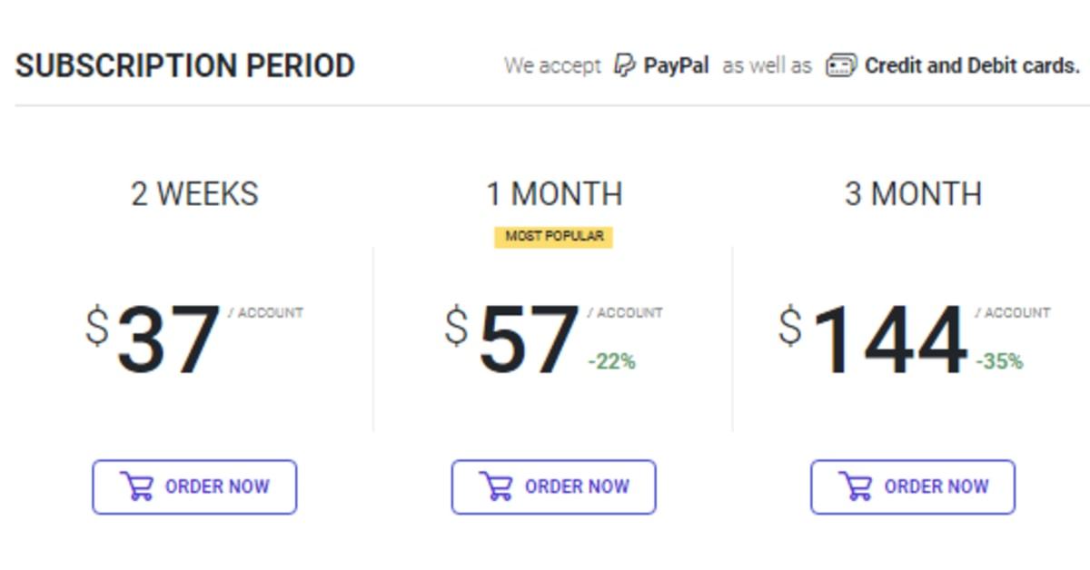 Ingramer Promo module pricing