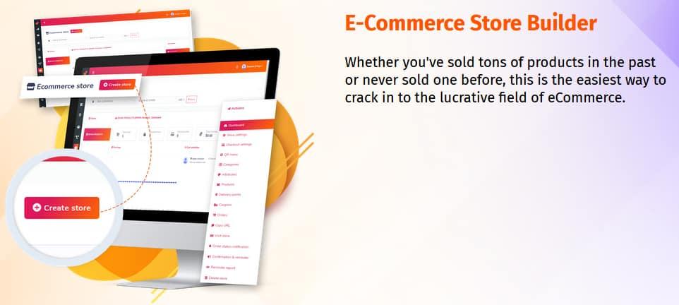 Marketibot E-Commerce Store Builder