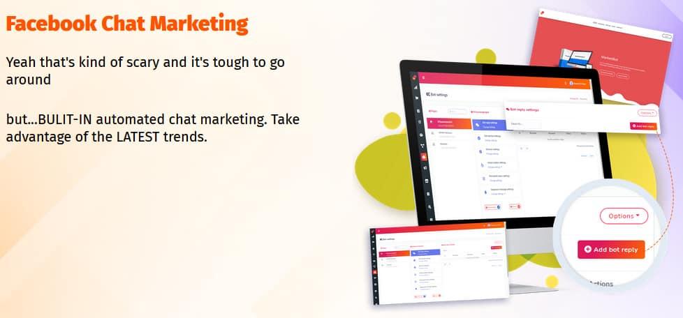 Marketibot Facebook Chat Marketing