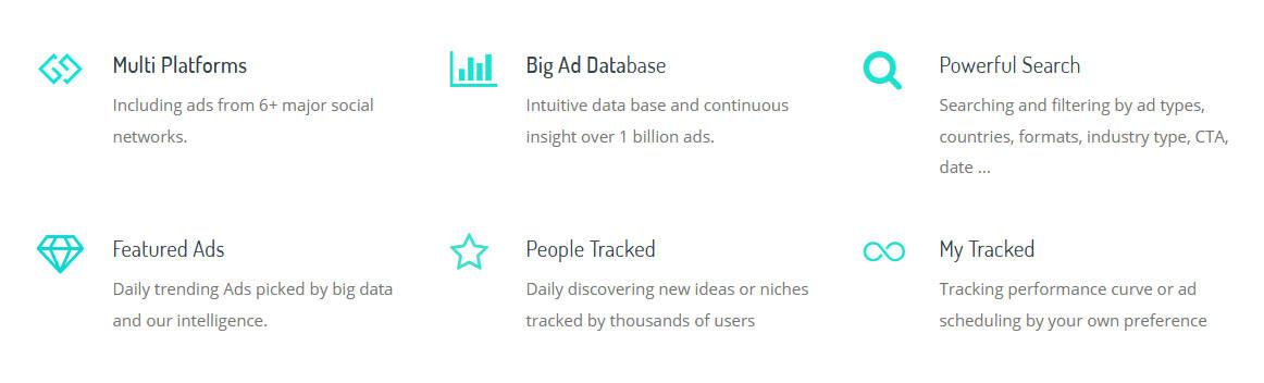 BigSpy Data Inventory