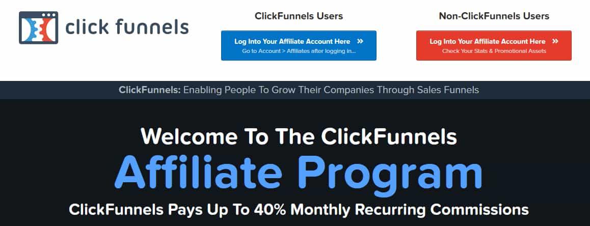 ClickFunnels Affiliate Program Commission