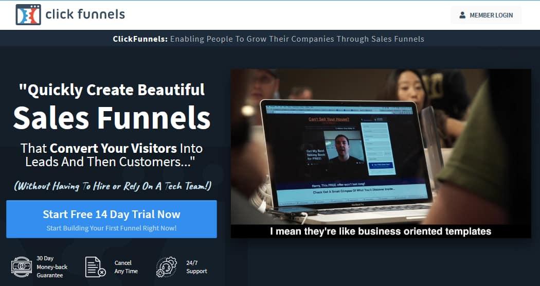 Clickfunnels Affiliate Program Reviews