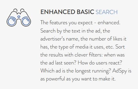Enhanced Basic Search