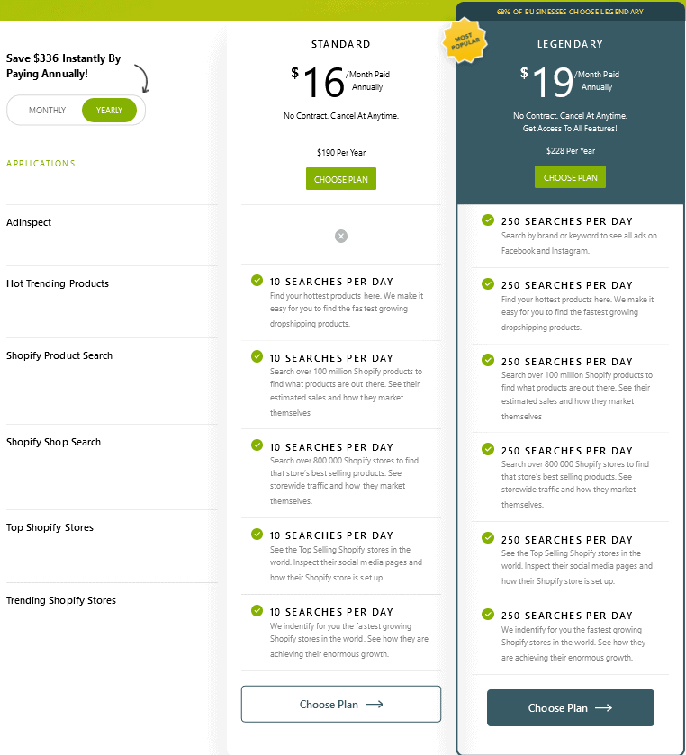 ShopInspect Pricing