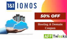 1&1 IONOS Coupon Codes 2021: Get Upto 50% OFF Now!