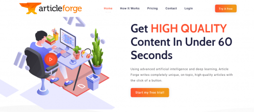 Article Forge 20% OFF Coupon