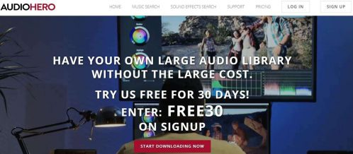 AudioHero - Download Royalty Free Music