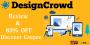 Get Flat 80% OFF on DesignCrowd