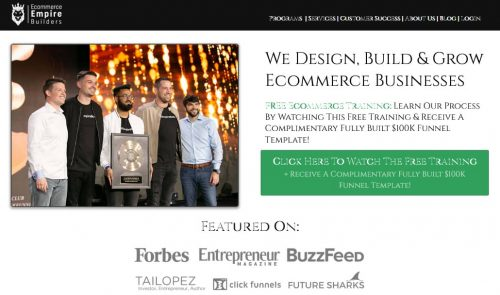 Join Ecommerce Empire Builders