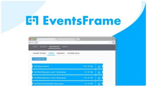 Eventframe - Host Awesome Events