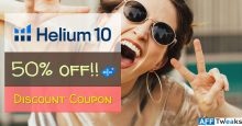 Helium 10 Coupon Code – Best Offer 50% OFF [2021]
