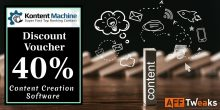 Kontent Machine Discount Coupon 2021: 40% OFF (100% Tested)