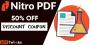50% OFF on Nitro PDF