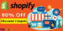 Get flat 80% OFF on Shopify