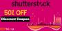 50% OFF Shutterstock